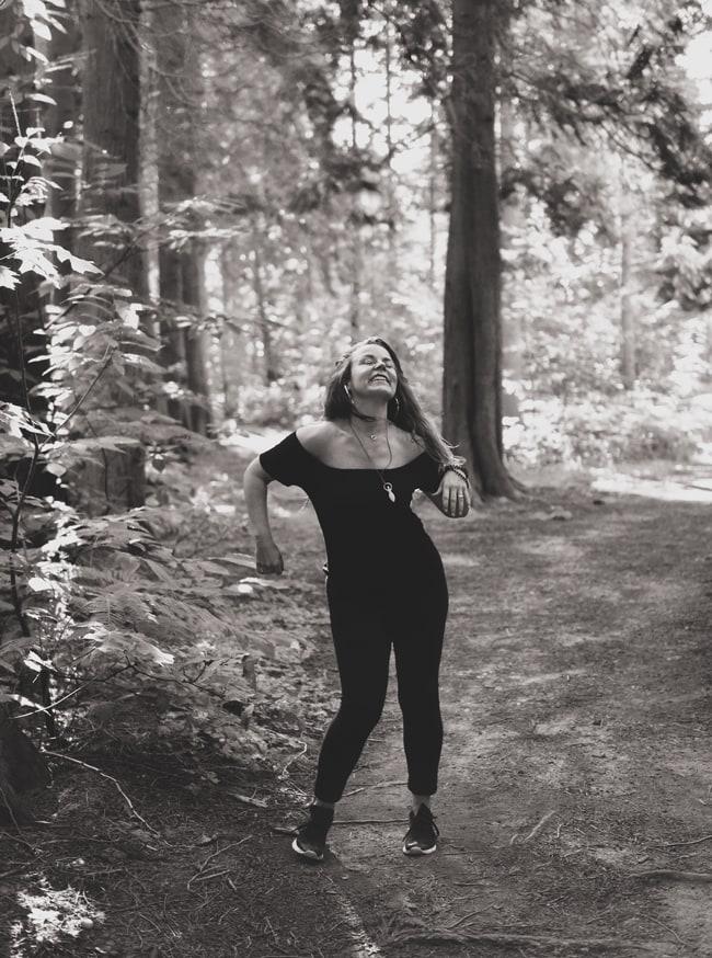 Winnie Winters danst met Rebody Flow